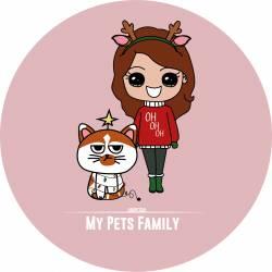 """PORTRAIT """"My Pets Family""""..."""
