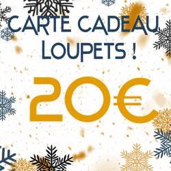 CARTE CADEAU 20